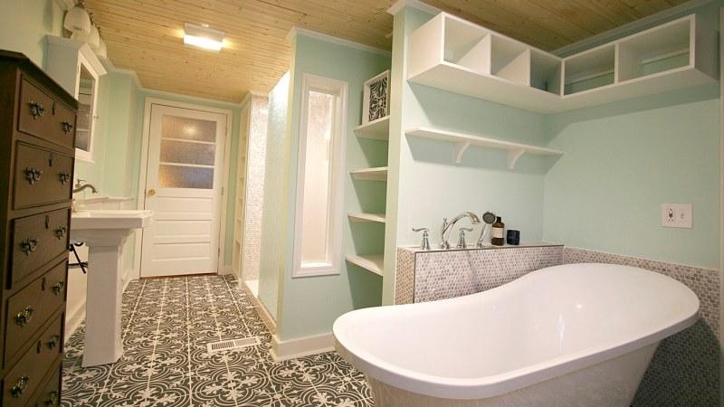 Farmhouse Bathroom Makeover Inspiration Board